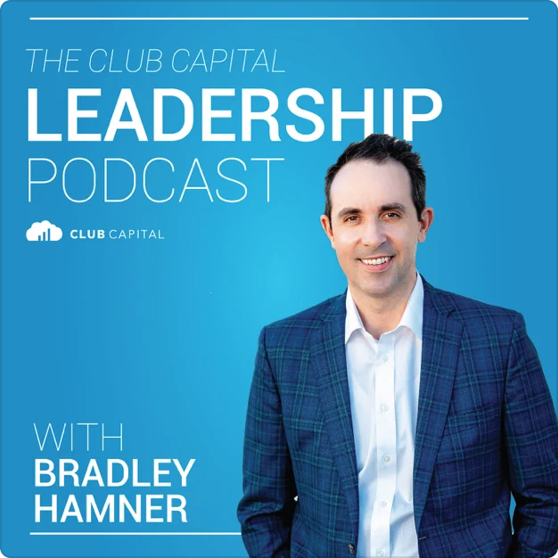 club capital leadership podcast with bradley hamner artwork